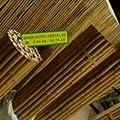 40-45mm 183x183cm Bambusrollzaun Bambusmatten Bambuslatten von poppe-portal auf Du und dein Garten