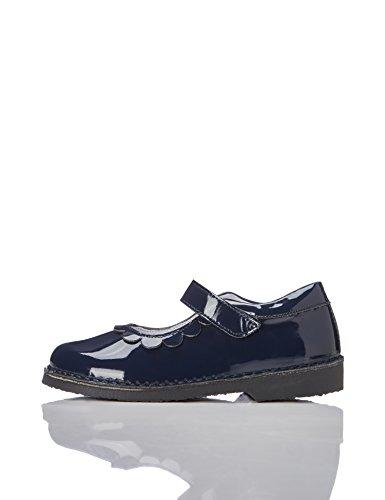 Red wagon scarpa mary jane lucida bambina, blu (navy), 25.5 eu
