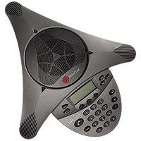 Polycom SoundStation VTX - 1000 Audiokonferenzsystem (ohne Mikrofone, ohne Subwoofer)