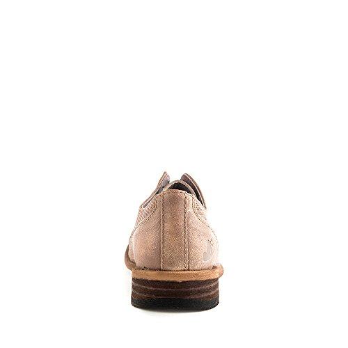 Felmini - Scarpe Donna - Innamorarsi com Bomber 8453 - Scarpe stringate - Pelle Genuina - Marrone chiaro Marrone chiaro