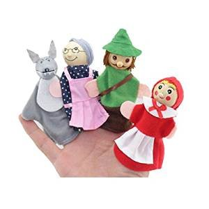 tbs-cappuccetto-rosso-animale-finger-puppet-set