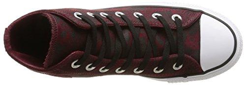 Sneakers Animal Hi bordeaux Hohe Converse noir Erwachsene Ctas Unisex Rot Z5EYq