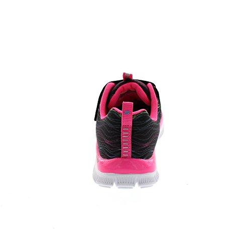 SKECHERS - Skech Appeal SITTIN PRETTY 81847 L - BKNP Black Neon Pink