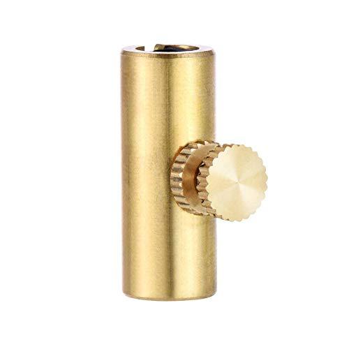 Rohr Pack (WANDIC Goldenes Messing Einstellbare Cello-Ton-Eliminator Wolf Ton Stummschaltungs-Rohr eliminiert Wolf-Ton pack of 1 gold 2)