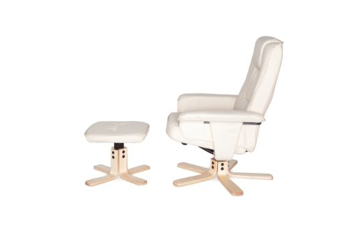 Amstyle Comfort Relaxsessel mit Hocker - 10