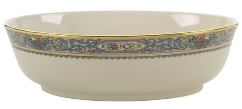 Lenox Autumn Gold-Banded Fine China Open Vegetable Bowl by Lenox Lenox Open Vegetable Bowl