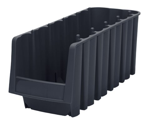 akro-mils 30718Wirtschaft Stapeln, Nistkasten Kunststoff Storage Bin, 11-7/20,3cm lang von 8-3/8Zoll Breite, 12,7cm hoch, schwarz, Fall von 8 - 8.375