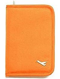 Porte-cartes en cuir souple portefeuille avec poche d'identité pour cartes de visite Porte-monnaie