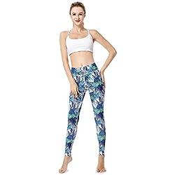 Mujer Polainas De Las Mujeres Estampado Elástico Impresas Friends con Chic Pantalones Lápiz Lápiz Entrenamiento Fitness Correr Pantalones Pantalones Casuales (Color : Colour, Size : XL)