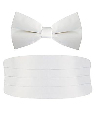 Alexander Dobell - Ceinture de smoking - Homme - Blanc - Blanc - Taille unique