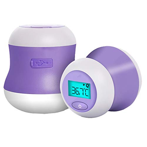 DFLY Infrarot-Stirn Thermometer, medizinisches digitales berührungsloses Baby-Thermometer, 32 Sätze Datenspeicher, Fieber Alarm USB Aufladen, für Kinder, Säuglinge, Erwachsene, Kleinkinder