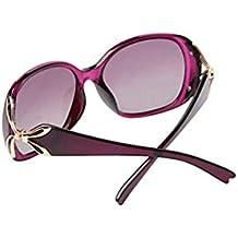 gafas grandes mujer - Morado - Amazon.es