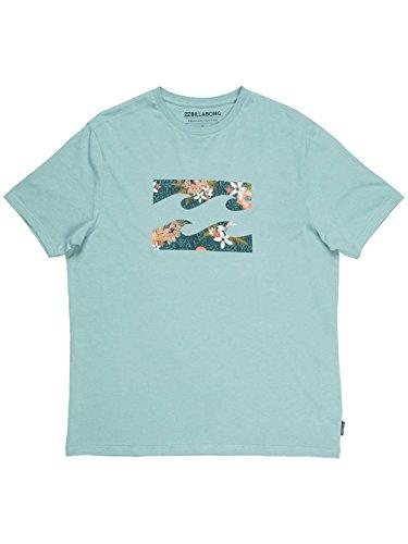 G.S.M. Europe - Billabong Herren T-Shirt TEAM WAVE dark haze