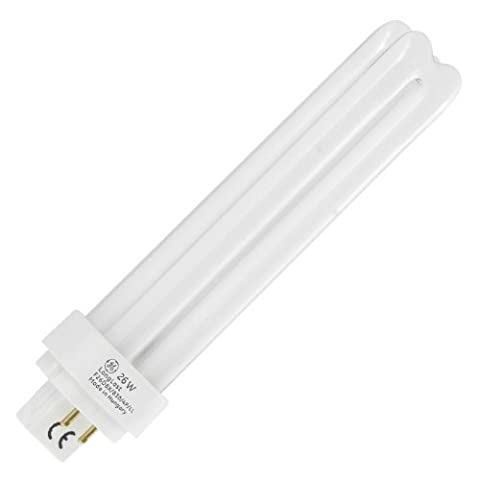 Sylvania Lot de 10 ampoules 26W Lynx-D/E à économie d'énergie, 4-PIN G24q-3,4000k/840,blanc froid, 0025927