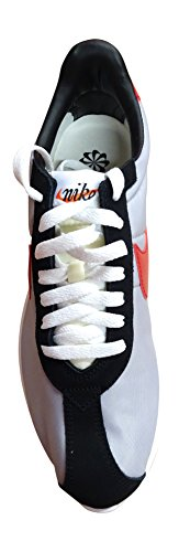 Nike Roshe Ld-1000 Qs, Chaussures De Course À Pied Pour Homme Gris / Noir / Rouge (wlf Gry / Vrsty Rd-blk-sfty Orng)