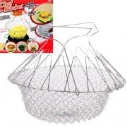 12 in 1 Chef Basket Kitchen Tool of Stainless Steel for Home Usage