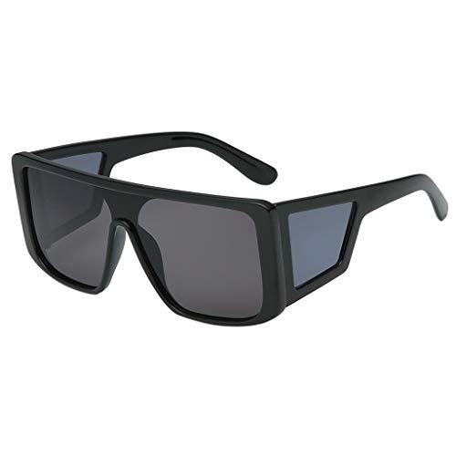 Trisee ✔ Sonnenbrille, PersöNlichkeit Polarisierte Sonnenbrille Herren Sonnenbrille Damen Polarisiert Brille Ohne SehstäRke Mode Blaulichtfilter Brille - Ultra Light UV-Schutz UV400