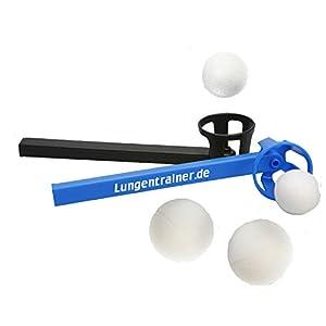 HAB & GUT Atemtrainingsgerät Flow-Ball® Plus Twin