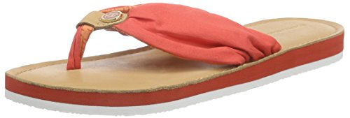 Tommy Hilfiger M1285ONICA 14D, Tongs femme Rouge (613)