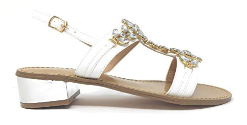 GARDINI Sandalo col Tacco Moda Positano Donna