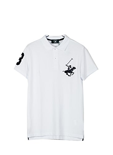 Clothing, Shoes & Accessories Ingenious Adidas Climalite White Polo Shirt With Three Black Stripes On Sleeve Size ~xl