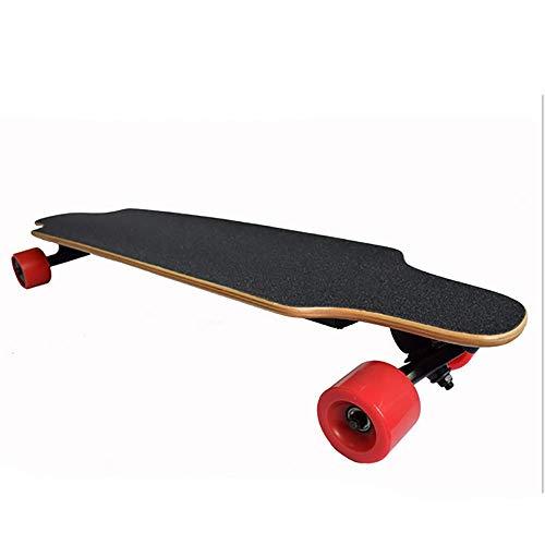 SKATEBOARD 4-Ruedas De Viaje Eléctrico De Control Remoto Inalámbrico Eléctrico De Cuatro Ruedas Scooter Doble Unidad Longboard Skate Scooter