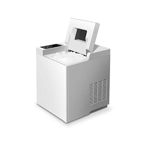 HLF- Máquina fabricadora de Hielo - máquina para Hacer Hielo pequeña de 15 kg para el hogar/Bar/café/té, portátil Tridimensional