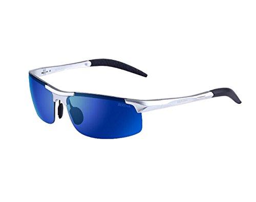 Telam Aluminium Magnesium Polarisierte Sonnenbrille Treiber Spiegel Blendfreie Ultralight Magnesium Super Robust Sport Eyewear.