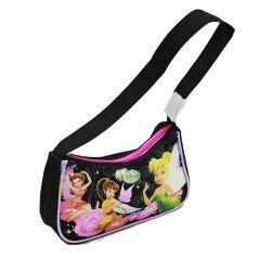 Handtasche–Disney–Tinkerbell–Schwarz New Hand Bag Geldbörse Mädchen Geschenke a00184