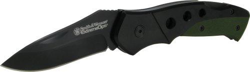 Smith and Wesson Smith and Wesson, Taschenmesser, Stahl AISI 420, Glip, beschichtet,...