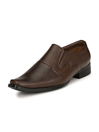 Sir Corbett Men's Synthetic Slip On Formal Shoes - B075XMQJQ3