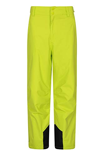 Mountain Warehouse Pantaloni Corti da Sci Gravity da Uomo Impermeabili Salopette Calda Cuciture Nastrate Abbigliamento da Sci Adatto per Vacanze