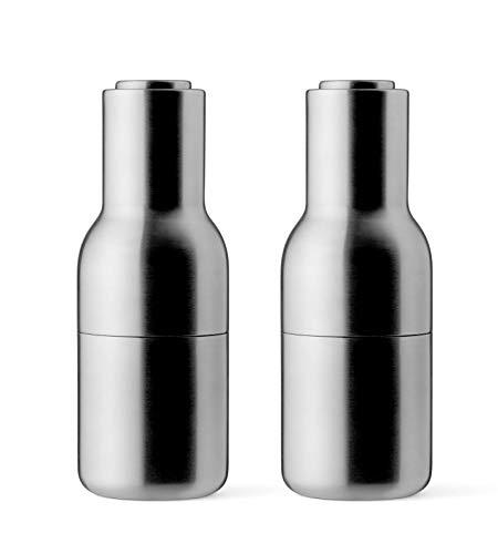 Menu Pfeffer-& Salzmühle, Edelstahl, Silber, 8 x 8 x 20 cm, 2-Einheiten - 20 Einheiten
