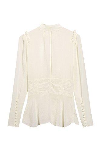 next Haut effet corset Standard Femme Ecru