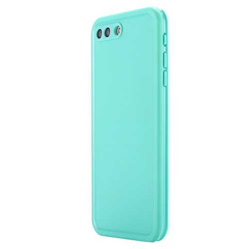 Custodia impermeabile iPhone 7 Plus,iPhone 7 Plus Waterproof case, Snewill Water Resistant [360 All Round Protective] Ultra Slim Thin Light Shockproof Dust/Snow Proof Case Cover with Built-in Screen P Teal