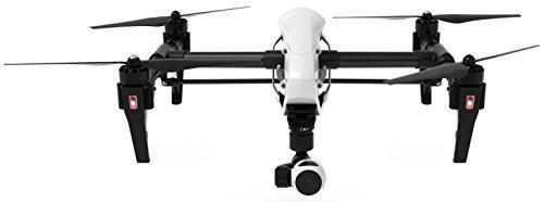 DJI DJIIN1R Inspire 1 Aerial UAV Quadrocopter Drohne mit Integrierter 4K, Full-HD Videokamera, Digitaler Fernsteuerung schwarz/weiß - 4