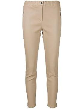 Arma Pantalones de piel beige modelo Cadiz Talla 40Deutsche tamaño