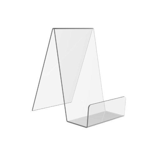 Displaypro–Marcos 5x tamaño mediano acrílico transparente función atril, para sujetar libros, teléfonos, hondos y más.–envío gratuito.