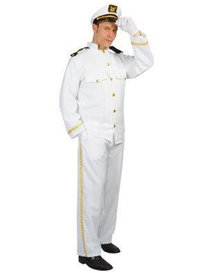Costume Capitano di Crociera, Taglia Unica