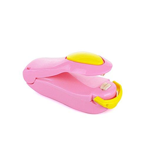 xmdz Schweißhelm Tasche Kunststoff--Beutel-Tasche für Speicher Snacks Süßigkeiten Lebensmittel, rosa