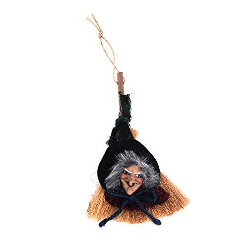 (Aprettysunny Halloween Dekoration Tür hängende Spuk Hexe Holz Party Supplies)