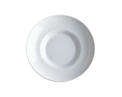 Alessi Sg53/2 Mami Assiette Creuse en Porcelaine Blanche, Set de 6 Pièces