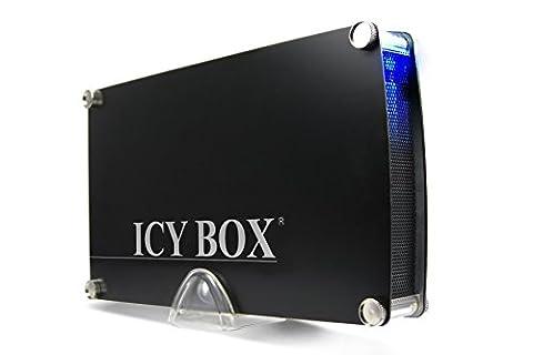 Icy box IB-351StU3S-B Boîtier externe pour disque dur 3,5