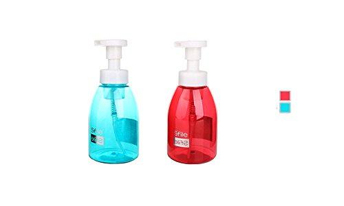 Distributeur de savon liquide moussant pour salle de bain ou cuisine - sans BPA rechargeables Pompe Bouteille de savon 396,9 gram/400 ml par Sunsang