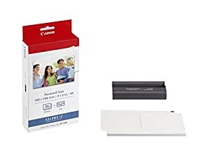 Canon 7737A001 KP-36IP photo paper inkjet 100x148mm 36 Blatt with ink cassette for CP-100