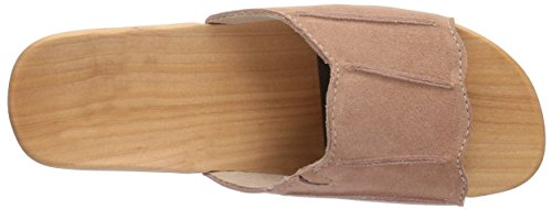 Woody  Anna, Claquettes femme Beige - Beige (Champagne)