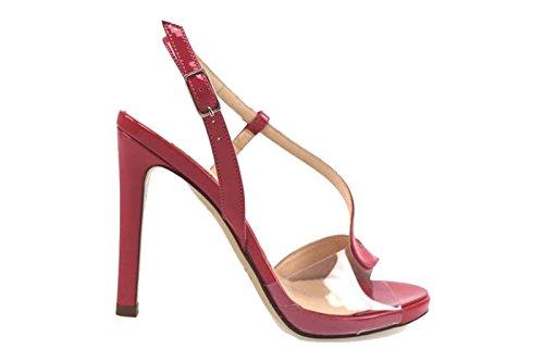 Scarpe donna LELLA BALDI sandali fucsia vernice AP831 (35 EU)
