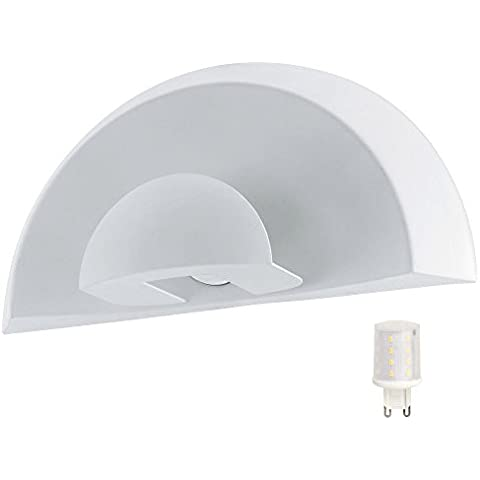 Design LED lampada spot di Auo?en parete lampada facciate Faretti veranda in acciaio