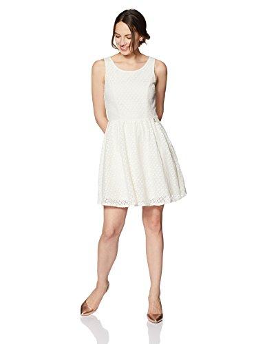ONLY NOS Damen Kleid 15114482, Elfenbein (Whisper White), 34