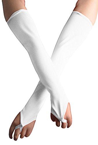 Howriis Damen Handschuh-Set Gr. Erwachsene, weiß